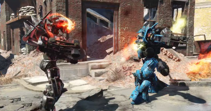 Fallout 4 Character Design Tips : Fallout automatron building robots weapons mechanist