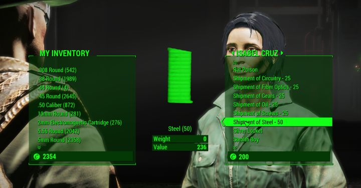 Isabel Cruz, the Mechanist in Fallout 4 Automatron
