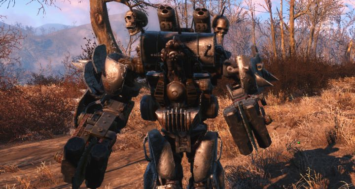 A Robot in Fallout 4 Automatron