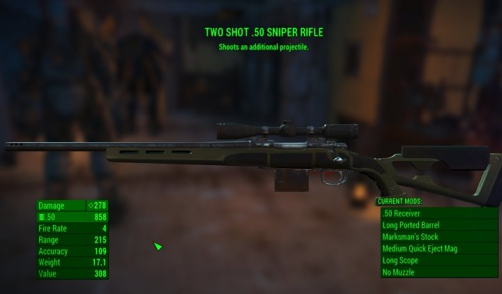 A good Sniper Rifle in Fallout 4