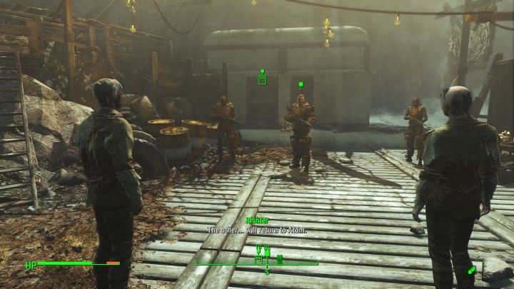 Attacking the Children of Atom Faction in Fallout 4 Far Harbor