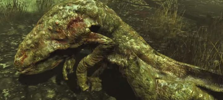 The new Gulper creature in Far Harbor