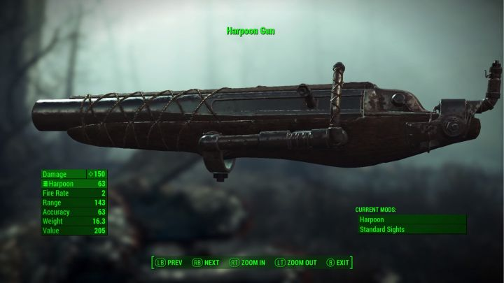 Far Harbor will give us a Harpoon Gun
