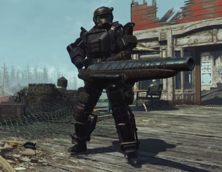 Marine Armor is a form of Combat Armor found in the Far Harbor DLC.