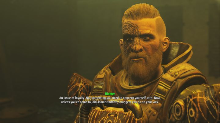 Grand Zealot Ricther in Fallout 4 Far Harbor