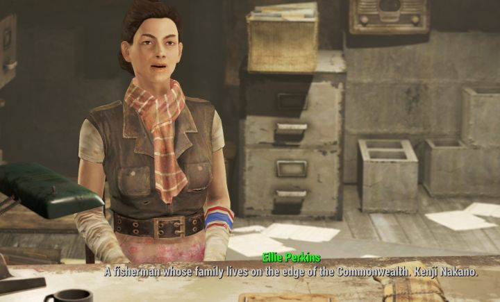 Nick Valentine's Assistant Ellie will give you the Quest to go to Far Harbor