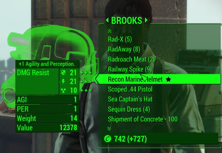 The unique Recon Marine Helmet is highly expensive, but a harpoon is pretty cheap