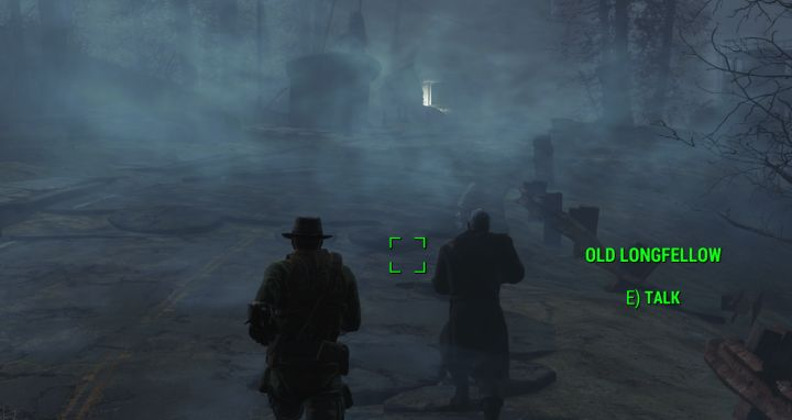 The Fog in Far harbor Fallout 4
