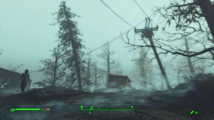 The second Eliza generator on Cranberry Island in Far Harbor for Fallout 4