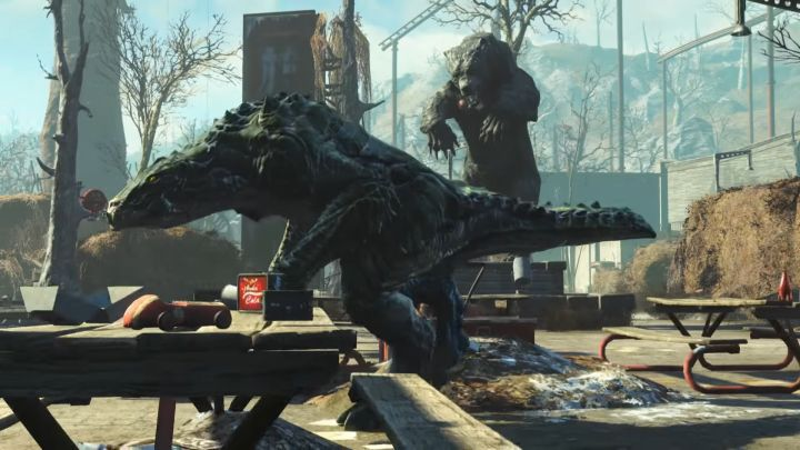 New enemies in the Fallout 4 Nuka World DLC