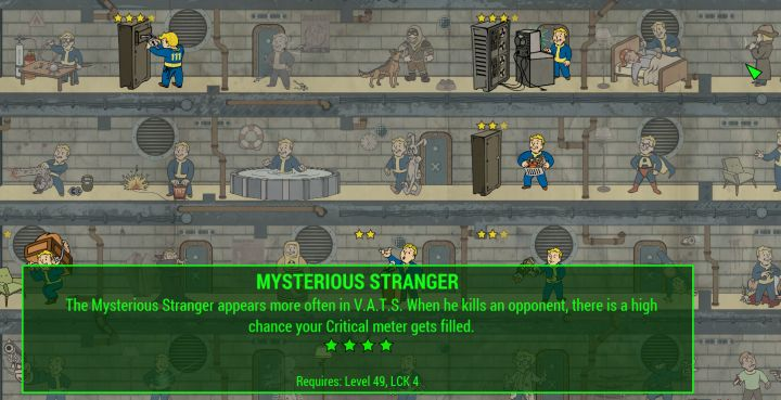 New Special Perk ranks in Fallout 4 Nuka World