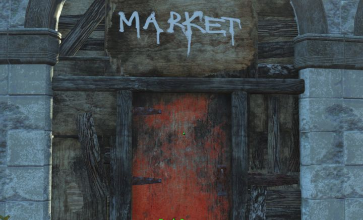 Fallout 4 Nuka World Visiting the Market to shop for items