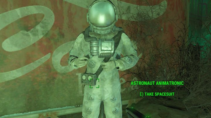 Astronaut suit in Fallout 4