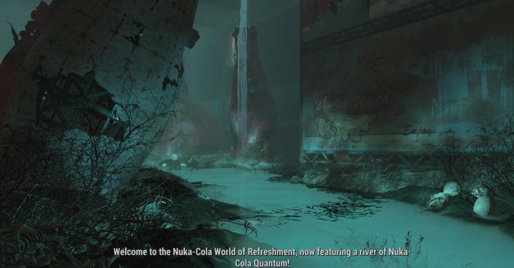 Inside the World of Refreshment attraction in Nuka-world