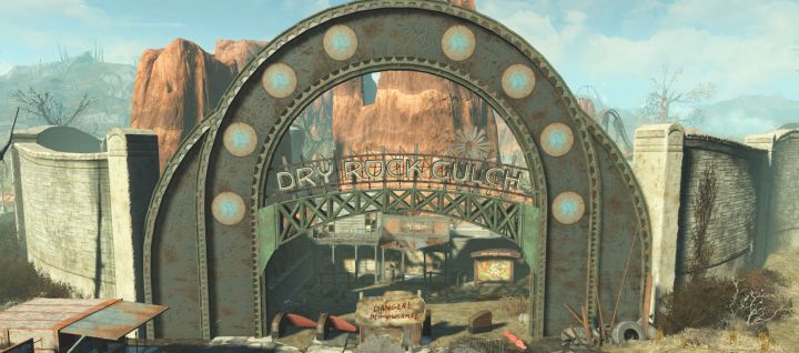 Dry Rock Gulch in Fallout 4 Nuka World