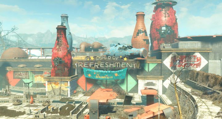 The Nuka Cola Bottling Plant in Fallout 4