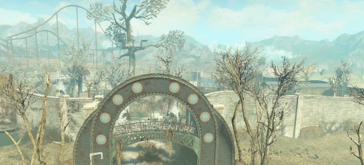 Safari Adventure area in Fallout 4 Nuka World to claim for the raider gangs