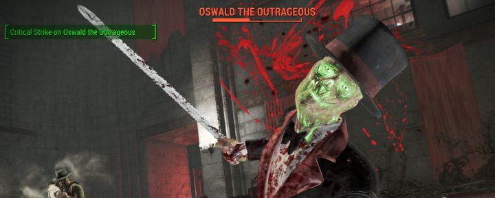 Oswald the outrageous in Fallout 4 Nuka World