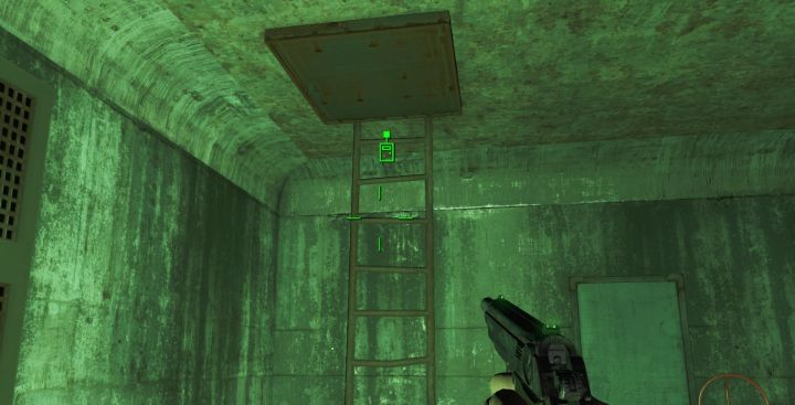 Fallout 4 getting to the power plant roof to restore power