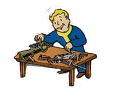 The Gun Nut perk for a gunslinger build in Fallout 4