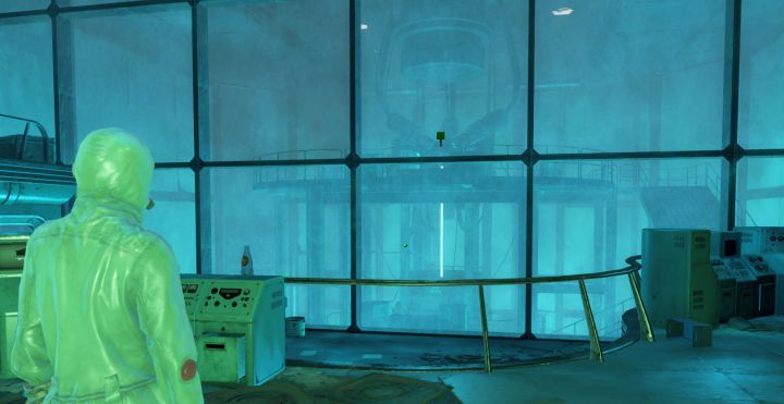 The reactor level where the Beryllium Agitator is found in Fallout 4's Mass Fusion Quest