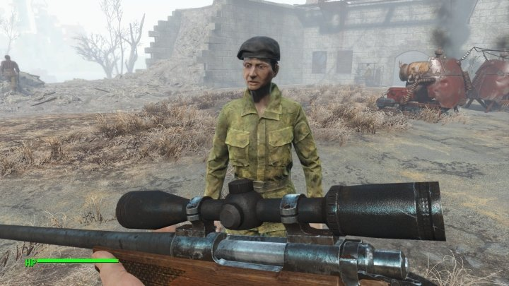 Ronnie of the Minutemen in Fallout 4