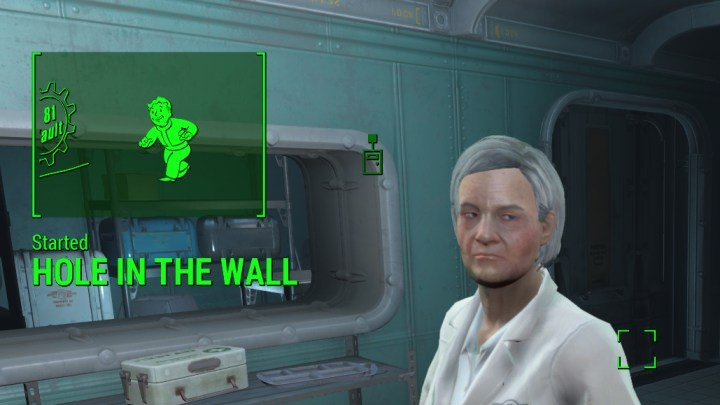 Fallout 4 Hole in the Wall (Vault 81) Quest