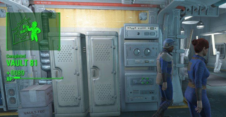 The Vault 81 Quest leads to better things, like Curie and Overseer's Guardian