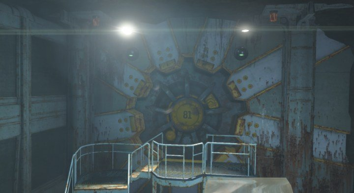 The door to Vault 81