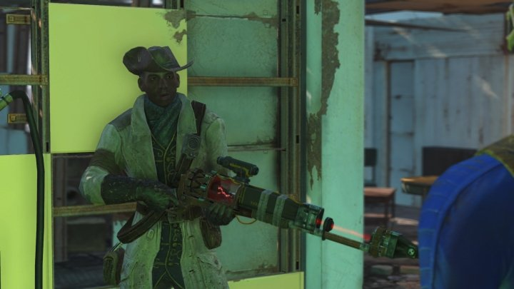 Preston Garvey in Fallout 4 will give you quests.