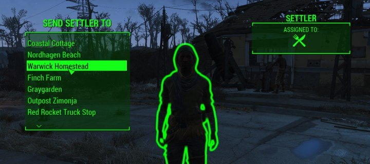 How to make a supply line in Fallout 4