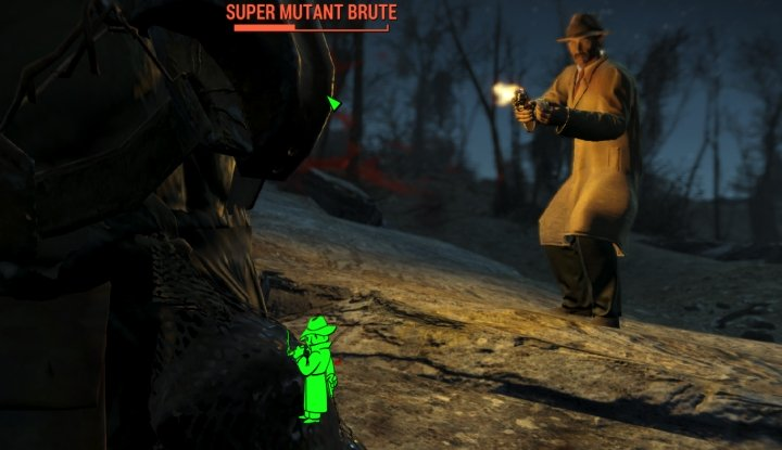The Mysterious Stranger in Fallout 4