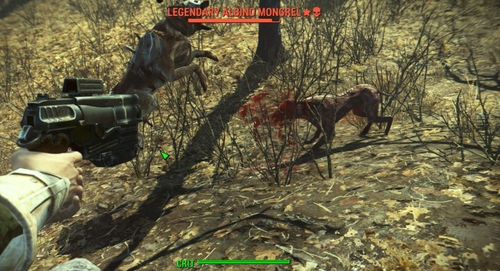 A Critical Hit in V.A.T.S. in Fallout 4